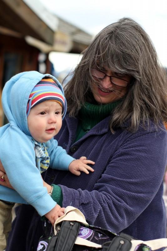 Oliver and grandma